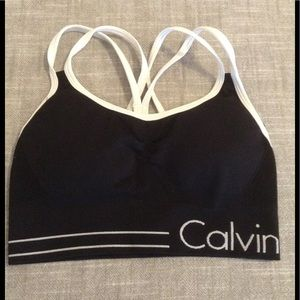 Calvin Klein performance bra